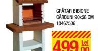 Gratar traditional Bibione carbuni 90x58 centimetri