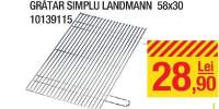 Gratar simplu Landman 58x30