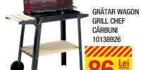 Gratar Wagon grill Chef carbuni