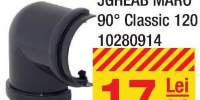 Coltar jgheab maron Classic 90 de grade
