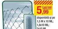 Plasa gard zincat GMG