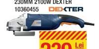 Polizor unghiular 230 milimetri 2100 W Dexter