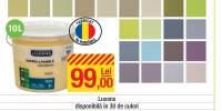 Vopsea interior colorata Luxens 10 L