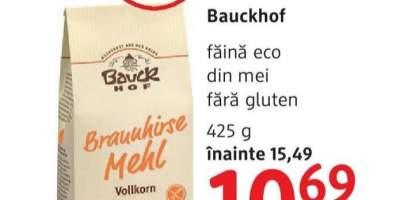 Faina eco din mei, fara gluten Bauckhof