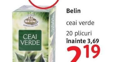Ceai verde Belin