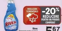 Detergent pentru geamuri Rivex