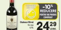 Vin rosu Chateau d'Orval