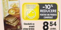 Ciocolata cu aroma creme brulee Casino