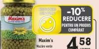 Mazare verde Maxim's