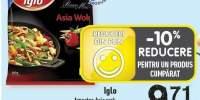 Amestec Asia wok, Iglo