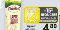 Napolact lapte consum 3.5% grasime