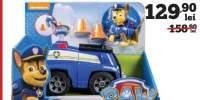 Figurina cu vehicul transformabil Paw Patrol