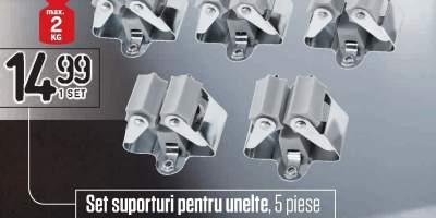 Set suporturi pentru unelte Powerfix