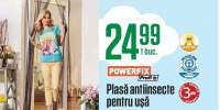 Plasa antiinsecte pentru usa, Powerfix