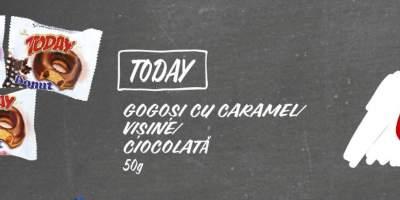 Gogosi cu caramel/visine/ciocolata