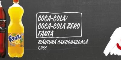 Bautura carbogazoasa Coca Cola/Fanta