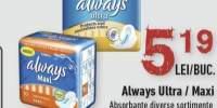 Always Ultra/ Maxi absorbante