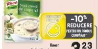 Supa rosii/ crema de ciuperci Knorr