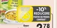 Supa de vita/ pui cu taitei Knorr
