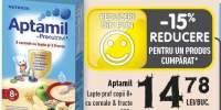 Lapte praf copii 8+ cu cereale&fructe Aptamil