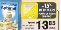 Lapte praf copii 6+ cereale/lapte Aptamil