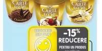 Inghetata vanilie/ ciocolata/ fructe de padure Carte D' Or