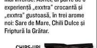 Chips-uri Exxtra Deep cu aroma de chili dulce, Chio