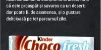 Batoane de ciocolata Chocofresh Desert, Kinder