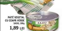 Pate vegetal cu ceapa verde, Sadu