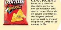 Chips-uri din porumb picant, Doritos