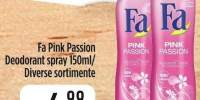 Fa Pink Passion deodorant spray