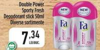 Fa Double Power Sporty Fresh/ Deodorant Stick