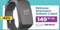 MyKronoz Smartwatch ZeWatch 2 black