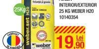 Adeziv interior/exterior Weber H2O
