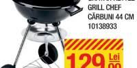 Gratar kettle grill chef carbuni