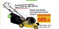 Masina tuns benzina auto-propulsata