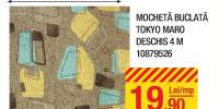 Mocheta buclata Tokyo maro deschis