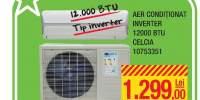 Aer conditionat Inverter 12000 BTU Celcia