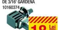 Cot 90 grade pentru conducta de 3/16' Gardena