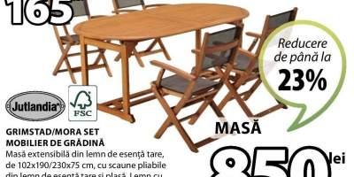 Grimstad/ Mora set mobilier de gradina