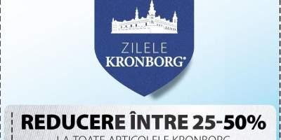 25- 50% reducere la toate articolele Kronborg!