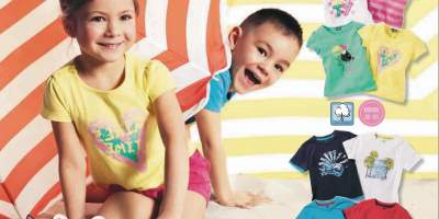 Set tricouri fete/ baieti Lupilu