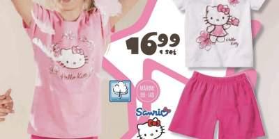 Pijama cu licenta Hello Kitty