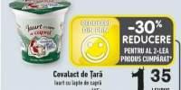Covalact de Tara iaurt cu lapte de capra