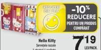 Servetele nazale Hello Kitty