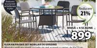 Set mobilier de gradina Rjukan/Fauske