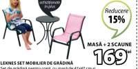 Set mobilier de gradina Leknes