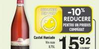 Castel Humiade vin roze