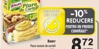 Piure instant de cartofi Knorr