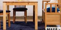 Set masa, scaune si banca Silkeborg